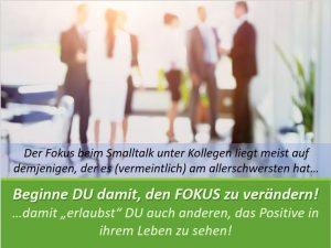 """Mache """"Büro-Smalltalk"""" zum Booster für positive Energie"""
